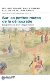 Sur Les Petites Routes De La Democratie - Couverture - Format classique