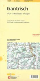 Gantrisch pédestre - Couverture - Format classique