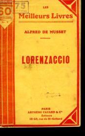 Lorenzaccio. Collection : Les Meilleurs Livres N° 7. - Couverture - Format classique
