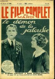 Le Film Complet Du Mardi N° 960 - 10eme Annee - Le Demon De La Jalousie - Couverture - Format classique