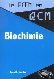 Biochimie - Intérieur - Format classique