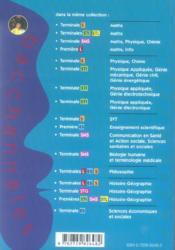 Bacchannales Toutes Sections ; Philosophie ; Sujets Du Bac Corrigés Et Commentés Et Résumé De Cours (2e Edition) - 4ème de couverture - Format classique