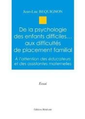 De La Psychologie Des Enfants Diff. - Couverture - Format classique