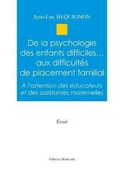 De La Psychologie Des Enfants Diff. - Intérieur - Format classique