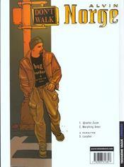 Alvin Norge t.1 ; @enfer.zcom - 4ème de couverture - Format classique