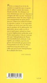 Sur Une Nouvelle Interpretation De La Philo. Politique - 4ème de couverture - Format classique