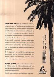 De verdun à cayenne. robert porchet (1891-1964) - 4ème de couverture - Format classique