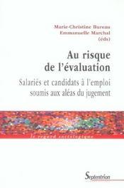 Au Risque De L'Evaluation - Intérieur - Format classique