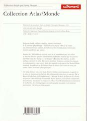 Atlas Des Conflits Fin De Siècle. Années 90, Guerres D'Identité, Guerres De Pauvreté - 4ème de couverture - Format classique