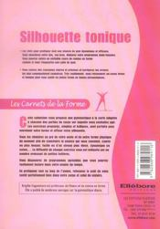 Silhouette Tonique - 4ème de couverture - Format classique