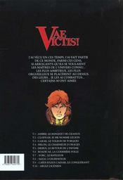 Vae victis t.1 ; Ambre, le banquet de Crassus - 4ème de couverture - Format classique