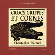 Crocs, griffes et cornes ; un livre à compter - Intérieur - Format classique