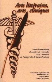 Arts littéraires, arts cliniques - Couverture - Format classique
