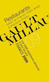 Guide Gault et Millau France (édition 2009) - Couverture - Format classique
