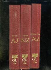 3 Tomes. Dictionnaire De Culture Universelle. Tome 1: Dictionnaire Biographique Des Auteurs A - J. Tome 2: K - Z. Tome 3: Dictionnaire Des Personnages A / Z. - Couverture - Format classique