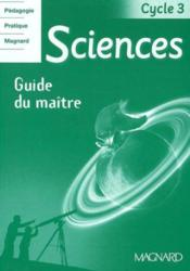 ODYSSEO ; sciences ; cycle 3 ; guide du maître (édition 2003)  - Rolando Jean-Michel