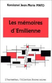 Les memoires d'Emilienne - Couverture - Format classique