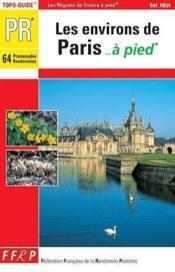 Pr/les environs de paris a pied - Couverture - Format classique