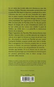 L'or de la séranne - 4ème de couverture - Format classique