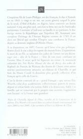 Le Duc D'Aumale - 4ème de couverture - Format classique