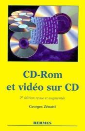 CD-ROM et vidéo sur CD (2e édition) - Couverture - Format classique