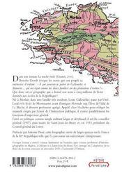 Gallouedec, 1864-1937 géographe de la III république - 4ème de couverture - Format classique