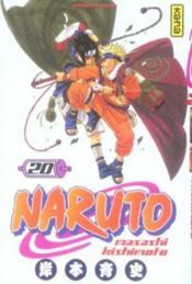 Naruto t.20 - Couverture - Format classique