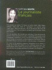 Le journaliste français - 4ème de couverture - Format classique