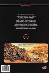 Zoulouland t.4 ; par le fer et par le feu - 4ème de couverture - Format classique