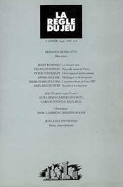 Revue La Regle Du Jeu T.8 - Couverture - Format classique