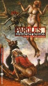 Paroles anticlericales - Couverture - Format classique