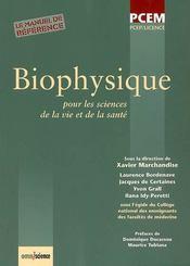 Biophysique pour les sciences de la vie et de la santé - Intérieur - Format classique