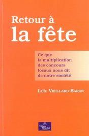 Evm Retour A La Fete - Intérieur - Format classique