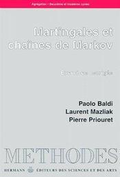 Martingales et chaînes de Markov - Couverture - Format classique
