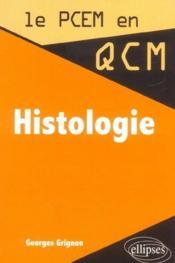 Histologie - Couverture - Format classique