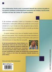 Programme d'interventions auprès des enfants - 4ème de couverture - Format classique