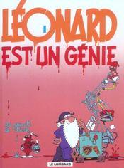Léonard t.1 ; Léonard est un génie - Intérieur - Format classique