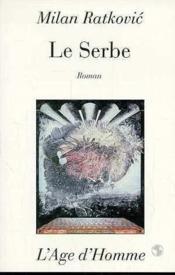 Le Serbe - Couverture - Format classique