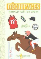 Decoupages Ronald Fait Du Sport - Intérieur - Format classique