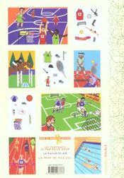 Decoupages Ronald Fait Du Sport - 4ème de couverture - Format classique