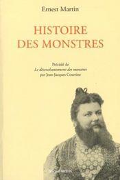 Histoire des monstres - Intérieur - Format classique