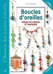 Boucles d'oreilles ; perles de cristal et fantaisie - Intérieur - Format classique