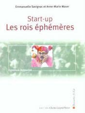 Start-Up ; Les Rois Ephemeres - Intérieur - Format classique
