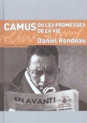 Camus ou les promesses de la vie - Intérieur - Format classique