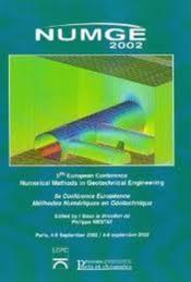 Numge 2002 5eme Conference Europeenne Methodes Numeriques En Geotechnique - Couverture - Format classique