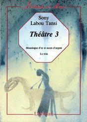 Théâtre 3 - Couverture - Format classique
