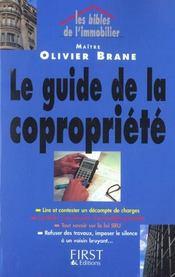 Le Guide De La Copropriete - Intérieur - Format classique