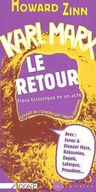 Karl Marx,Le Retour - Couverture - Format classique