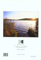 Lacs en Auvergne - 4ème de couverture - Format classique