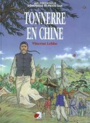 Tonnerre en chine Vincent Lebbe - Couverture - Format classique